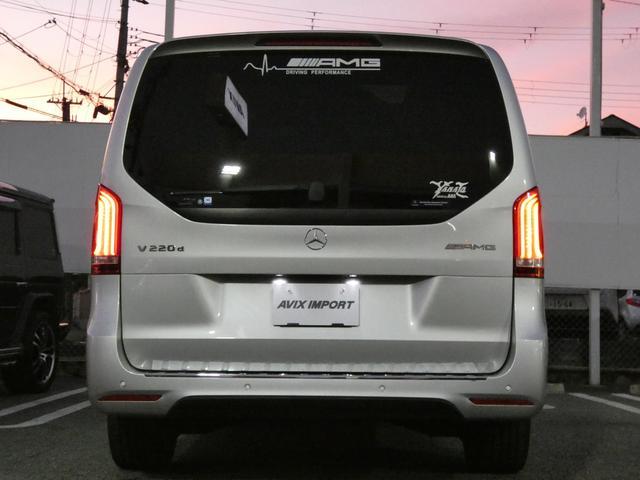 V220d スポーツ ロング パノラマ 黒革 レーダーセーフティPKG HDDナビ 地デジ 360°カメラ 19AW 社外リップスポイラー 禁煙  シートヒーター LEDヘッドライト 正規D車(40枚目)