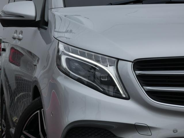 V220d スポーツ ロング パノラマ 黒革 レーダーセーフティPKG HDDナビ 地デジ 360°カメラ 19AW 社外リップスポイラー 禁煙  シートヒーター LEDヘッドライト 1オーナー 正規D車(4枚目)