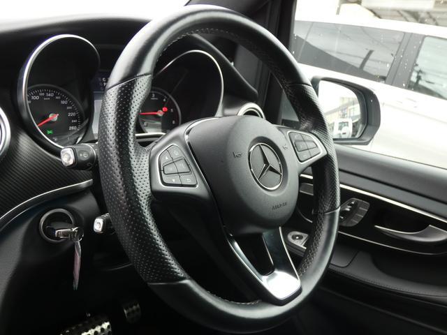 V220d スポーツ ロング パノラマ 黒革 レーダーセーフティPKG HDDナビ 地デジ 360°カメラ 19AW 社外リップスポイラー 禁煙  シートヒーター LEDヘッドライト 1オーナー 正規D車(9枚目)