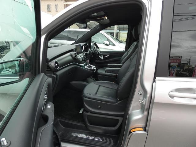 V220d スポーツ ロング パノラマ 黒革 レーダーセーフティPKG HDDナビ 地デジ 360°カメラ 19AW 社外リップスポイラー 禁煙  シートヒーター LEDヘッドライト 1オーナー 正規D車(14枚目)