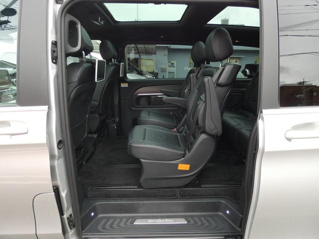 V220d スポーツ ロング パノラマ 黒革 レーダーセーフティPKG HDDナビ 地デジ 360°カメラ 19AW 社外リップスポイラー 禁煙  シートヒーター LEDヘッドライト 1オーナー 正規D車(15枚目)