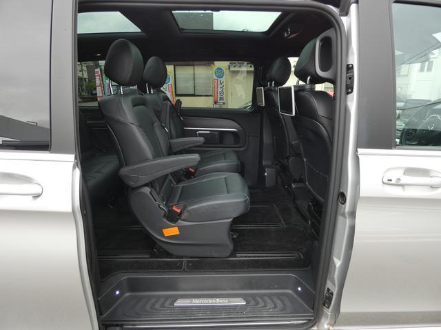 V220d スポーツ ロング パノラマ 黒革 レーダーセーフティPKG HDDナビ 地デジ 360°カメラ 19AW 社外リップスポイラー 禁煙  シートヒーター LEDヘッドライト 1オーナー 正規D車(17枚目)