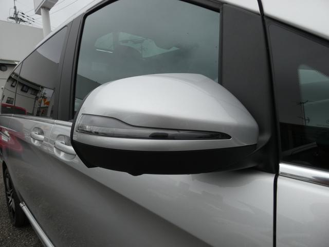 V220d スポーツ ロング パノラマ 黒革 レーダーセーフティPKG HDDナビ 地デジ 360°カメラ 19AW 社外リップスポイラー 禁煙  シートヒーター LEDヘッドライト 1オーナー 正規D車(38枚目)