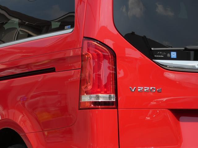 V220d アバンギャルド ロング レザーPKG 黒レザー レーダーセーフティPKG 7人乗 LEDライト 両側電動スライドドア 純正HDDナビ 地デジ 360°カメラ FDモニター 禁煙  正規ディーラー車(5枚目)
