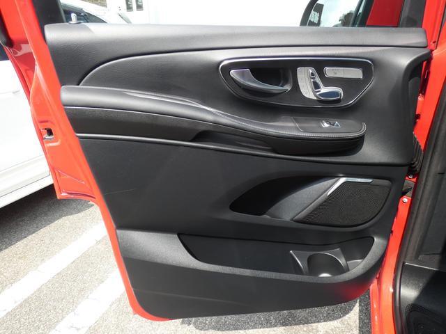 V220d アバンギャルド ロング レザーPKG 黒レザー レーダーセーフティPKG 7人乗 LEDライト 両側電動スライドドア 純正HDDナビ 地デジ 360°カメラ FDモニター 禁煙  正規ディーラー車(45枚目)
