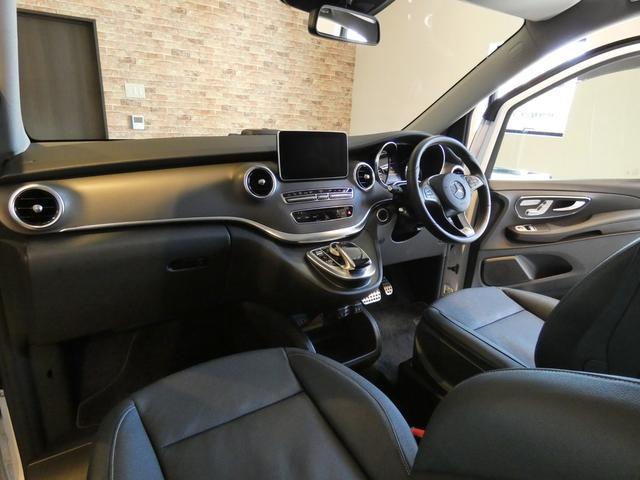 V220d レザーPKG RSP LED 禁煙1オナ新車保証(8枚目)
