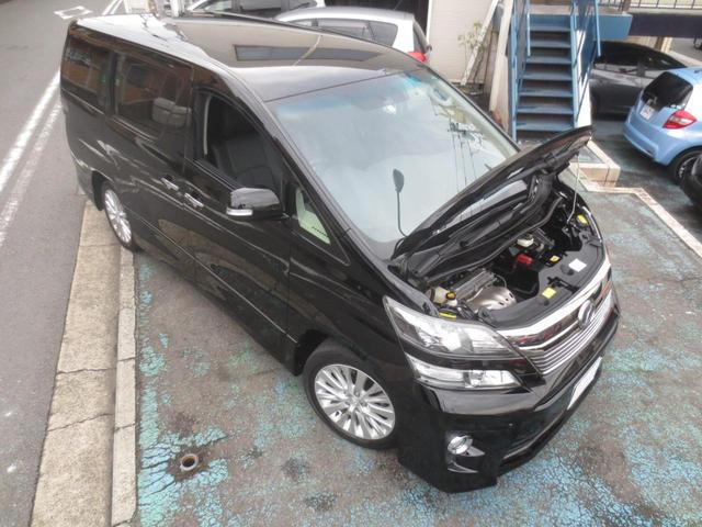 2.4Z 8乗 両電動ドア 8インチナビTV革調シートカバー(16枚目)