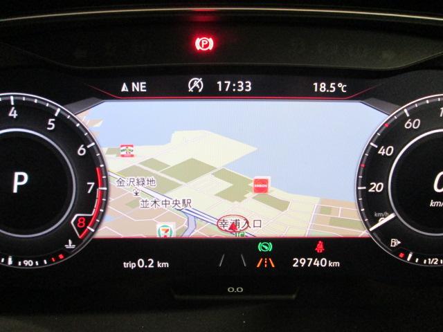 Active Info Display搭載。ナビ画面等がメーターにも表示され、安全なドライブができます!