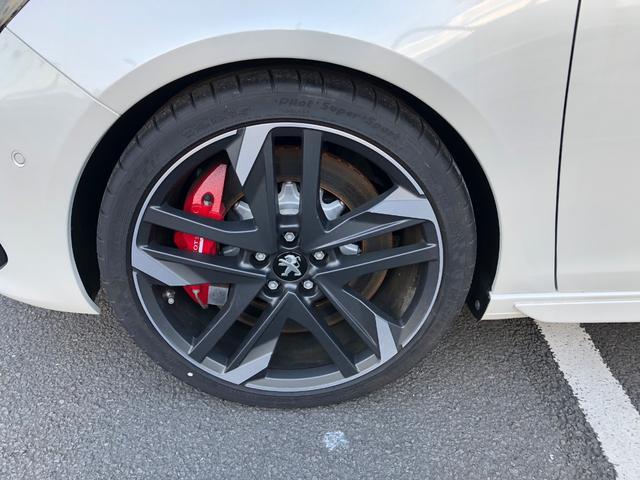 GTi byプジョースポール 270馬力 登録済未使用車(17枚目)