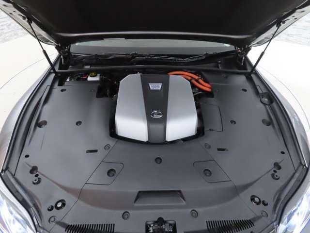 LS500h バージョンL 認定中古車CPO ムーンルーフ(19枚目)