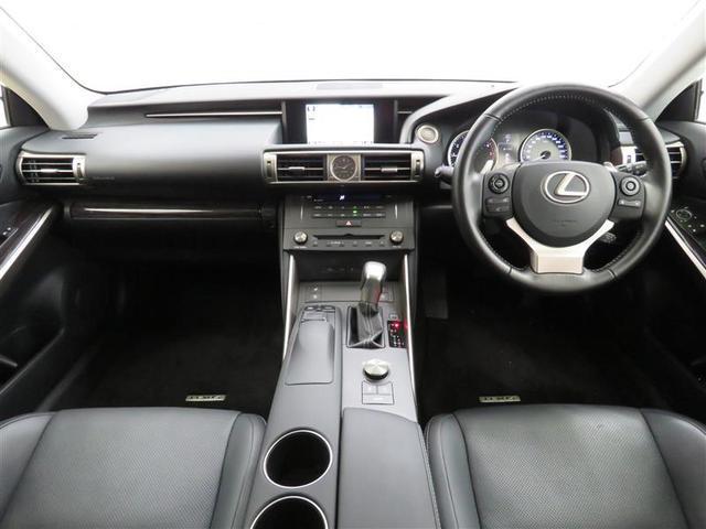 レクサス IS IS200tバージョンL 認定中古車CPO ナビバックカメラ