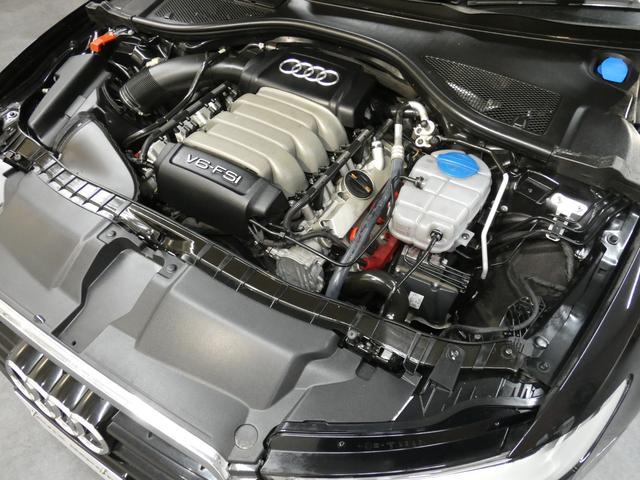 V型6気筒DOHC 7速Sトロニック Audiドライブセレクト イモビライザーエレクトロニックキー レインセンサー 右ハンドル 正規ディーラー車
