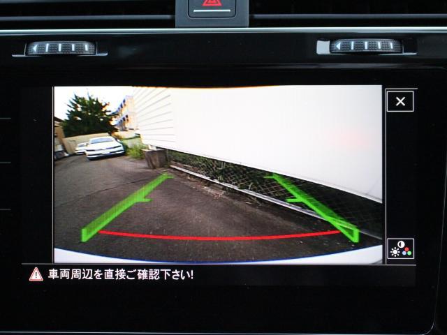 TSIハイライン デモカー 純正ナビ リアビューカメラ(12枚目)
