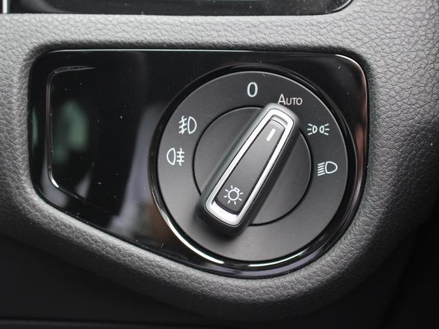 オートライト、フォグランプも装備されています。スイッチも手の届きやすいところに配置されています。