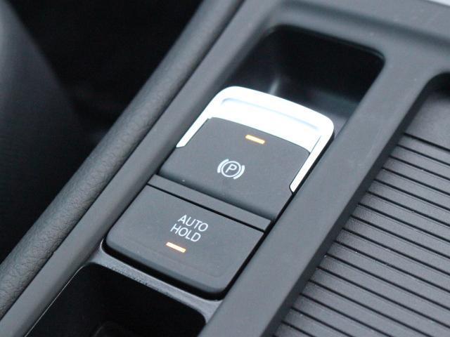 電動パーキングブレーキに加え坂道発進時や渋滞時に便利で安心なオートホールド機能も装備しています。
