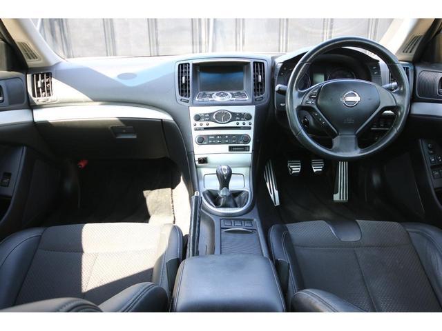 ワンオーナー 純正HDDナビ 新品車高調 Z34ホイール(2枚目)