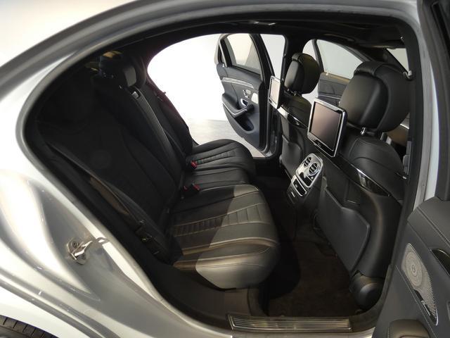 S550プラグインハイブリッドロング AMGライン 希少ショーファーPKG パノラミックスライディングルーフ ブラックレザー レーダーセーフティPKG ヘッドアップディスプレイ 純正HDDナビ 地デジ 360°カメラ 専用19AW 禁煙車(19枚目)