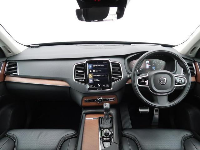 T6 AWD インスクリプション ワンオーナー 禁煙車 ブラック本革シート 9インチナビTV 360°ビューカメラ ベンチレーション&マッサージ機能付きシート メモリ機能付パワーシート インテリセーフ 純正20インチAW 7人乗り(2枚目)