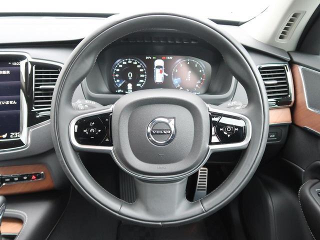 T6 AWD インスクリプション ワンオーナー 禁煙車 ブラック本革シート 9インチナビTV 360°ビューカメラ ベンチレーション&マッサージ機能付きシート メモリ機能付パワーシート インテリセーフ 純正20インチAW 7人乗り(10枚目)