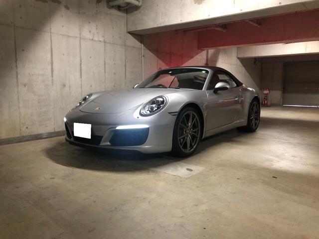 911カレラ カブリオレ ワンオーナー 正規D車(3枚目)