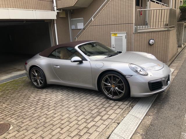 911カレラ カブリオレ ワンオーナー 正規D車(5枚目)