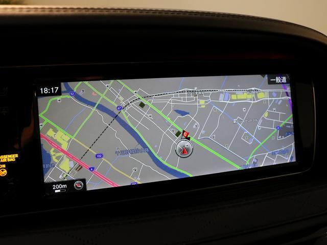 S63 AMG 4マチックロング AMGダイナミックPKG ファーストクラスPKG V8ツインターボ パノラマSR 黒革 全席シートヒーター&ベンチレーター HDDナビ Burmester リアエンター 全周カメラ&ナイトビューHUD RSP 純正20AW(11枚目)
