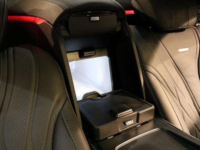 S63 AMG 4マチックロング AMGダイナミックPKG ファーストクラスPKG V8ツインターボ パノラマSR 黒革 全席シートヒーター&ベンチレーター HDDナビ Burmester リアエンター 全周カメラ&ナイトビューHUD RSP 純正20AW(40枚目)