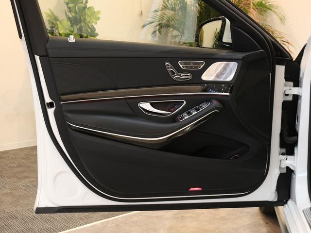 S63 AMG 4マチックロング AMGダイナミックPKG ファーストクラスPKG V8ツインターボ パノラマSR 黒革 全席シートヒーター&ベンチレーター HDDナビ Burmester リアエンター 全周カメラ&ナイトビューHUD RSP 純正20AW(42枚目)