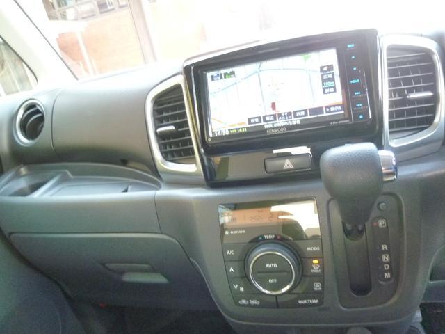 XSターボ 両側パワースライド スマートキー ナビ 地デジ 革調カバージ ワンオーナー車(10枚目)