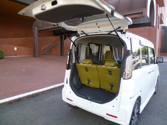 XSターボ 両側パワースライド スマートキー ナビ 地デジ 革調カバージ ワンオーナー車(18枚目)