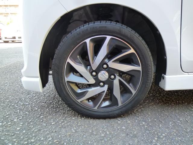 XSターボ 両側パワースライド スマートキー ナビ 地デジ 革調カバージ ワンオーナー車(19枚目)