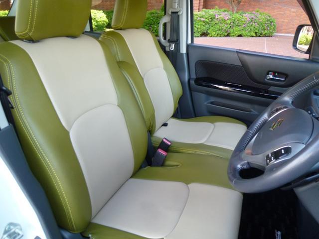 XSターボ 両側パワースライド スマートキー ナビ 地デジ 革調カバージ ワンオーナー車(24枚目)
