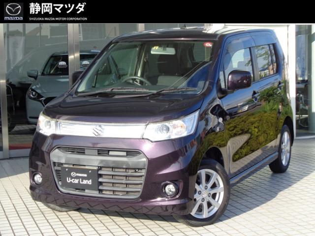 「スズキ」「ワゴンRスティングレー」「コンパクトカー」「静岡県」の中古車