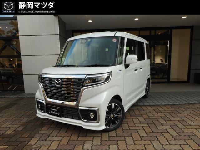 マツダ カスタムスタイルHV XS オートライト・オートエアコン・W