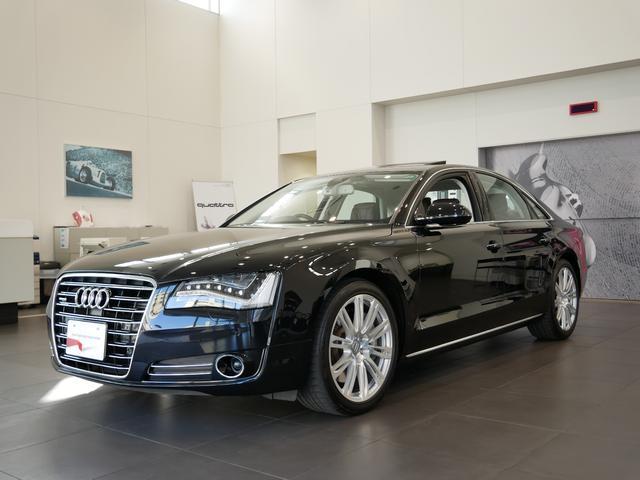 アウディ A8 4.2クワトロ Audiデザインセレクション 認定...