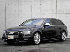 アウディ S4アバント純正ナビ リアカメラ 電動バックドア 黒赤コンビレザー 認定