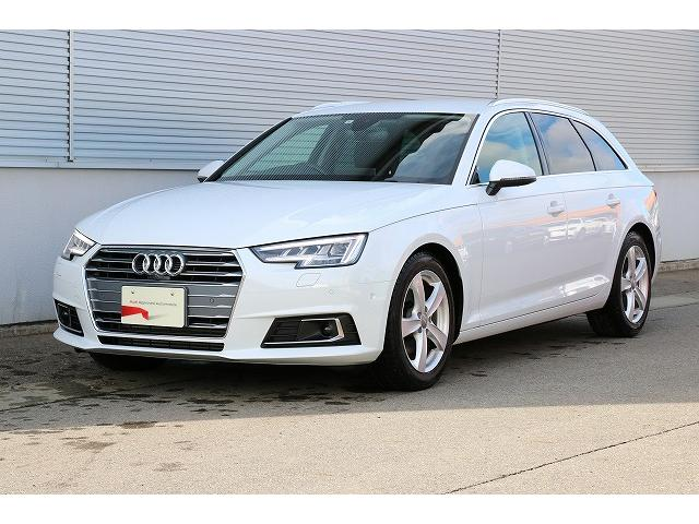 アウディ A4アバント 2.0TFSIスポーツ スマートキー Audi認定中古車