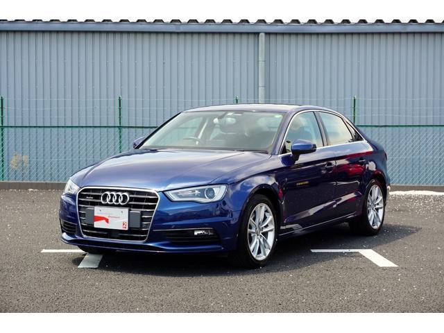 アウディ A3セダン 1.8TFSIクワトロ ナビ バックカメラ アダプティブクルーズコントロール 禁煙車 Audi認定中古車