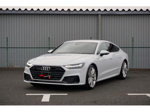 アウディ 55TFSIクワトロ Sライン 弊社試乗車 禁煙 Audi認定中古車