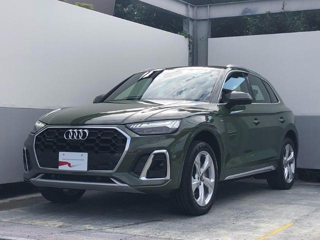 アウディ Q5 40TDIクワトロ Sライン 2021モデル 1オーナー 禁煙車 認定中古車 Audi Q5 40 TDI quattro S line S line plus パッケージ アルミホイール 5アームデザイン