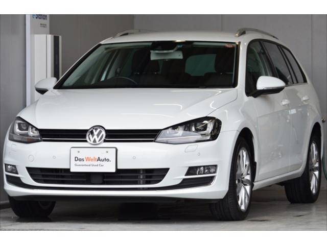 フォルクスワーゲン VW ゴルフヴァリアント TSIハイラインブルーモーションテクノロジー