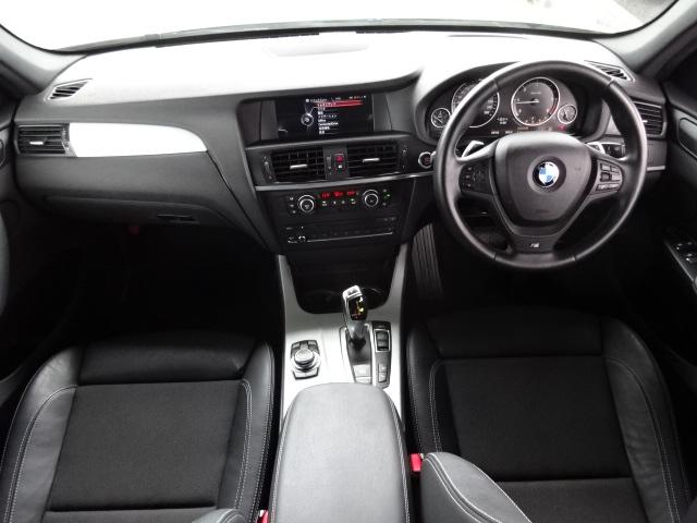 BMW BMW X3 xDrive 20i Mスポーツ 4WD 黒ハーフ革 ナビ