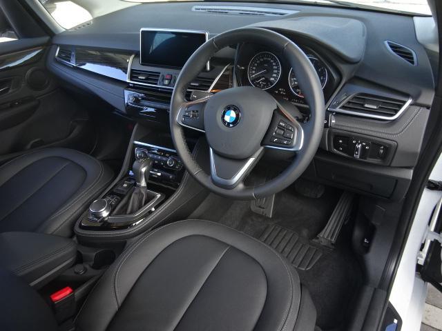 BMW BMW 218dアクティブツアラー ラグジュアリー 黒革 禁煙 ナビ