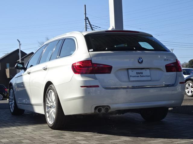 BMW BMW 523iツーリング ラグジュアリー 黒革 1オナ ACC禁煙