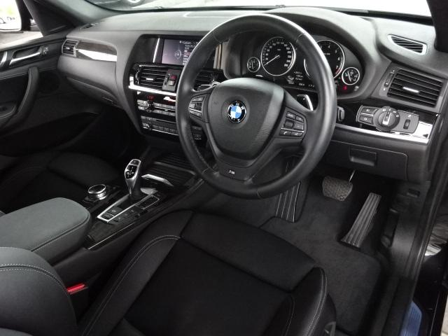 BMW BMW X4 xDrive 35i Mスポーツ 黒革 ACC トップビュー