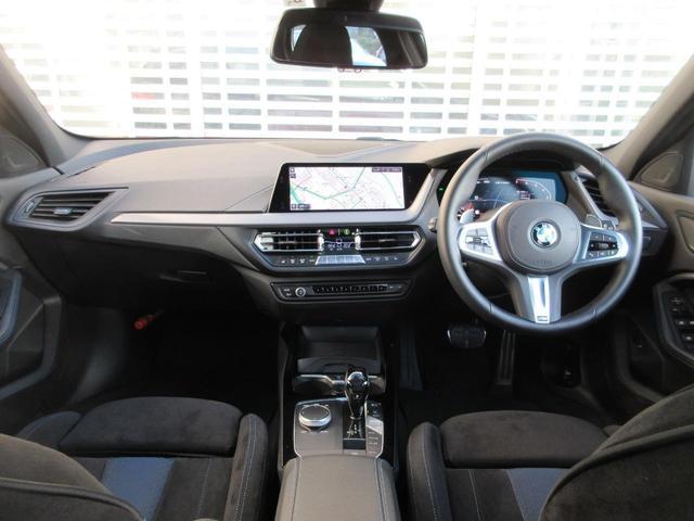 M135i xDrive パノラマガラスサンルーフ HIFIスピーカー アクティブクルーズコントロール レーンチェンジウォーニング ドライビングアシスト シートヒーター HDDナビゲーション リアビューカメラ 禁煙車(8枚目)