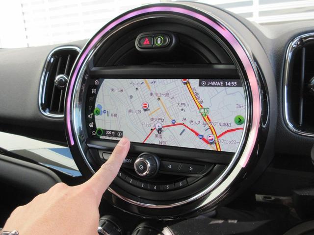 クーパーD クロスオーバー ペッパーパッケージ LEDヘッドライト 17インチアルミ ドライバーアシスト アクティブクルーズコントロール タッチパネルHDDナビゲーション リアビューカメラ Bluetooth ETC 禁煙車(19枚目)