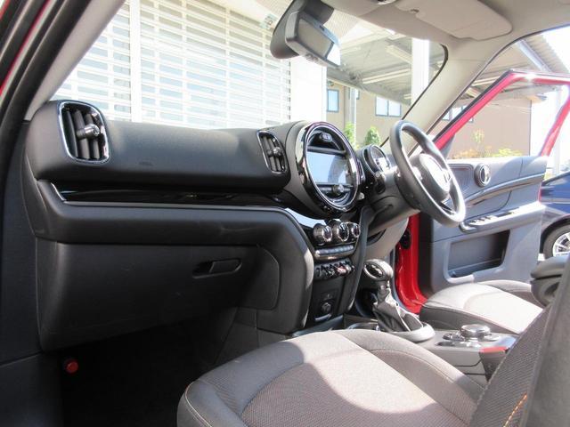 クーパーD クロスオーバー ペッパーパッケージ LEDヘッドライト 17インチアルミ ドライバーアシスト アクティブクルーズコントロール タッチパネルHDDナビゲーション リアビューカメラ Bluetooth ETC 禁煙車(24枚目)