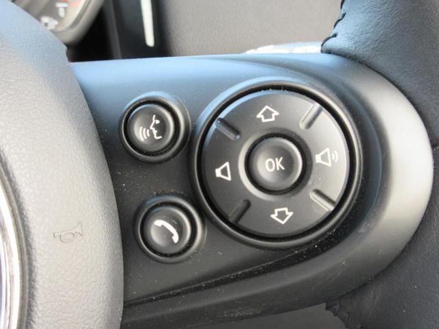 クーパーD クロスオーバー ペッパーパッケージ LEDヘッドライト 17インチアルミ ドライバーアシスト アクティブクルーズコントロール タッチパネルHDDナビゲーション リアビューカメラ Bluetooth ETC 禁煙車(38枚目)