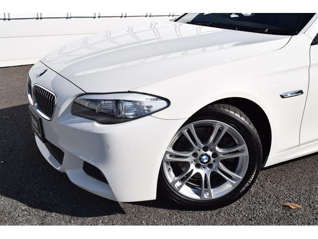 BMW BMW 528iツーリングMスポーツ パノラマSR 黒革 認定中古車